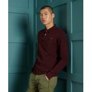 Superdry Classic Pikee-Polohemd aus Bio-Baumwolle L rot