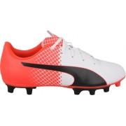 Puma voetbalschoenen Evospeed 5.5 FG wit/rood heren maat 46.5