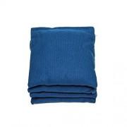 Regulation Cornhole Bags (Set of 4) by SC Cornhole (Royal Blue)
