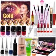 A Complete Set Of Make-up Combo With Color Diva Skin Diva Facial Kit 80g
