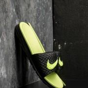 Nike Benassi Solarsoft Black/ Volt