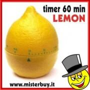 TIMER MECCANICO LIMONE 60 minuti