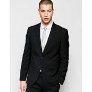 ASOS Черный стретчевый пиджак суперзауженного кроя ASOS - Черный