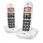 Doro Téléphone Sans fil Duo DORO Phone Easy 100w Noir grand afficheur