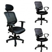 Earthwood -Buy 1 Executive Chair Get 2 Office Chairs Free