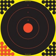 "Birchwood Casey Shoot-N-C Target - 17.25"""" Bullseye, 5 Pack"