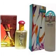Riya MELODY PERFUME 100 ML +POIZO PERFUME 100 M Eau de Parfum - pack of 2 (For Men Women)