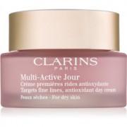 Clarins Multi-Active дневен крем с антиоксидиращ ефект за суха кожа 50 мл.