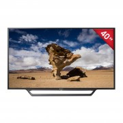 "Pantalla Smart Tv Sony Bravia W65d 40"" Led / Fullhd / Widescreen / Negro, Kdl-40w650d"