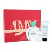 Giorgio Armani Acqua di Gioia confezione regalo eau de parfum 100 ml + lozione corpo 75 ml + eau de parfum 15 ml donna