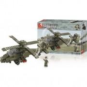 Sluban costruzione elicottero army da attacco