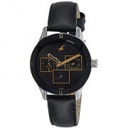 Fastrack Analog Black Dial Womens Watch-6078SL11