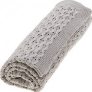 Vinter & Bloom Grace Organic Blanket Grey Mist