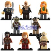 Generic DR.Tong Medieval Castle Knights Blue King Knight Bule Lion Golden Dragon Heavy Shield Building Blocks with Weapon Gift Toys PG8149