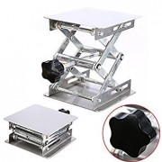 Tradico® 45mm~150mm Stainless Steel Lab Stand Lab-Lift Lifting Platform Laboratory Tool