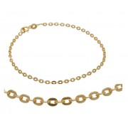 9ct/925 Gold fusion ladies fancy bracelet