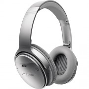 Casti Wireless QuietComfort 35 Over Ear Argintiu BOSE