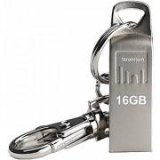 Strontium Ammo 16GB 2.0 USB Pen Drive (Silver)
