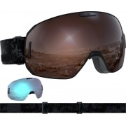 Salomon S/Max Access Black/Solar Mirror +1 Lens 20/21