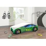 Pat Tineret MyKids Race Car 04 Green-140x70