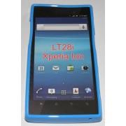 Силиконов гръб ТПУ за Sony Xperia ion LT28i Син
