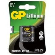 Gp Batteries Blister 1 Batteria a Bottone al Litio CR P2-C1