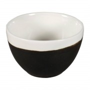 Churchill Super Vitrified Churchill Monochrome Profile Open Sugar Bowls Onyx Black 230ml (Pack of 12)