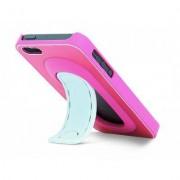 geschenkidee.ch Click Stand iPhone 5/5S Schutzhülle pink