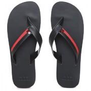 Adidas Men Black Red Brizo 3.0 Flip-Flops