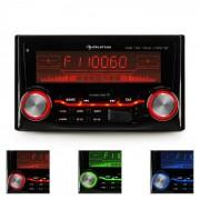 Auna MD-200 2G BT Autoradio USB SD MP3 Bluetooth 3 couleurs