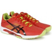 Asics GEL-SOLUTION SPEED Tennis Shoes For Men(Orange)