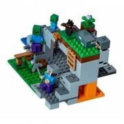 Minecraft, Lego Mina cu Zombie 240 piese