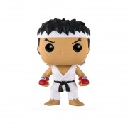 Funko Pop Ruy With White Headband Streetfighter Videogame Figure