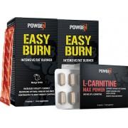 PowGen Fettverbrennungs-Maschine - 30-tägiges Fettverbrennungsprogramm mit PowGens 2 effizientesten Fatburnern EasyBurn und L-Carnitine Max Power PowGen