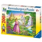 Puzzle Printesa Si Cal, 200 Piese Ravensburger