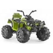 ATV electric pentru copii NITRO Offroad 12V cu Telecomanda Music player Verde