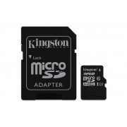 Kingston Canvas Select - Flash-minneskort (adapter, microSDHC