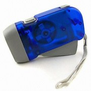 Style Maniac Hand Pressing Flash Light - No Battery No Bulb Simply Shake to Recharge
