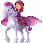Disney Princesse Sofia et Minimus son cheval