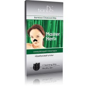 Почистваща лепенка за нос Master Herb - Бамбуков въглен - 1 бр