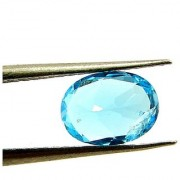 10.25 Ratti IGL Certified Blue Topaz Nice Oval cut - Ceylon Sapphire