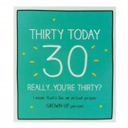 Felicitare 30 ani- Happy Jackson