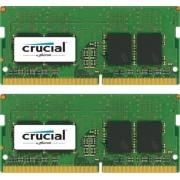 Crucial 32GB KIT (16GBx2) 2400 DDR4 1.2V CL17 SODIMM, CT2K16G4SFD824A