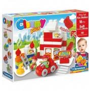 Clemmy Plus Construcciones Bomberos - Clementoni