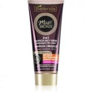 Bielenda Magic Bronze Crema pentru bronzare pielea inchisa la culoare cu efect de hidratare 200 ml