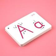ABBBT Alphabet Flash Cards - 26 Alphabet Card A-Z Capital Letters for School Teachers, Parents - Early Lea