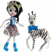Enchantimals - Zelena zebra állatkával