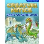 Creaturi mitice carte cu abtibilduri