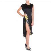 Versace Vestito abito donna al ginocchio manica corta savage barocco