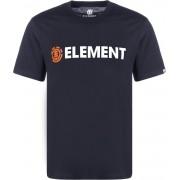 Element Blazin Herren T-Shirt blau